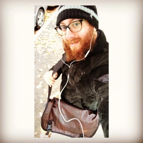 Zev Autumn selfie